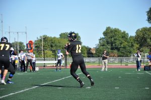 Oshkosh junior quarterback Brett Kasper has a record of 2-0 vs. Finlandia in the past two seasons. He has gone 9 for 12 on 239 yards with three touchdowns and zero interceptions.