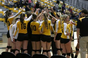 The UW Oshkosh women's volleyball team returns home on Sept. 28 to play conference opponent UW-Platteville.