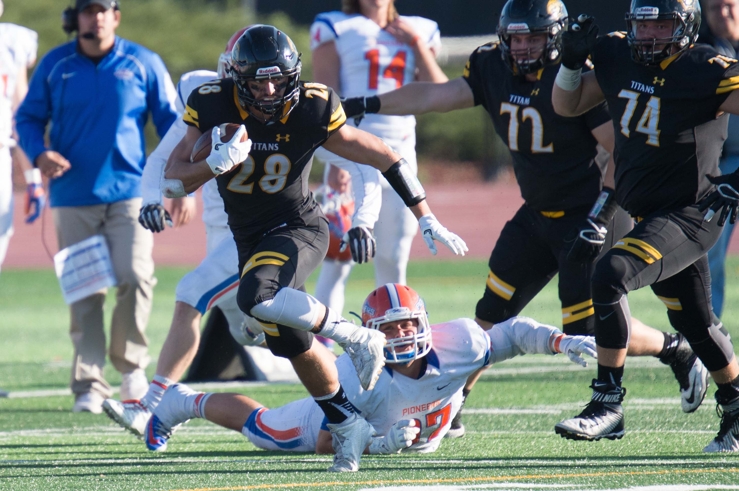 After a loss to UW-Whitewater ended their chance at a perfect season, the Titans are back on track