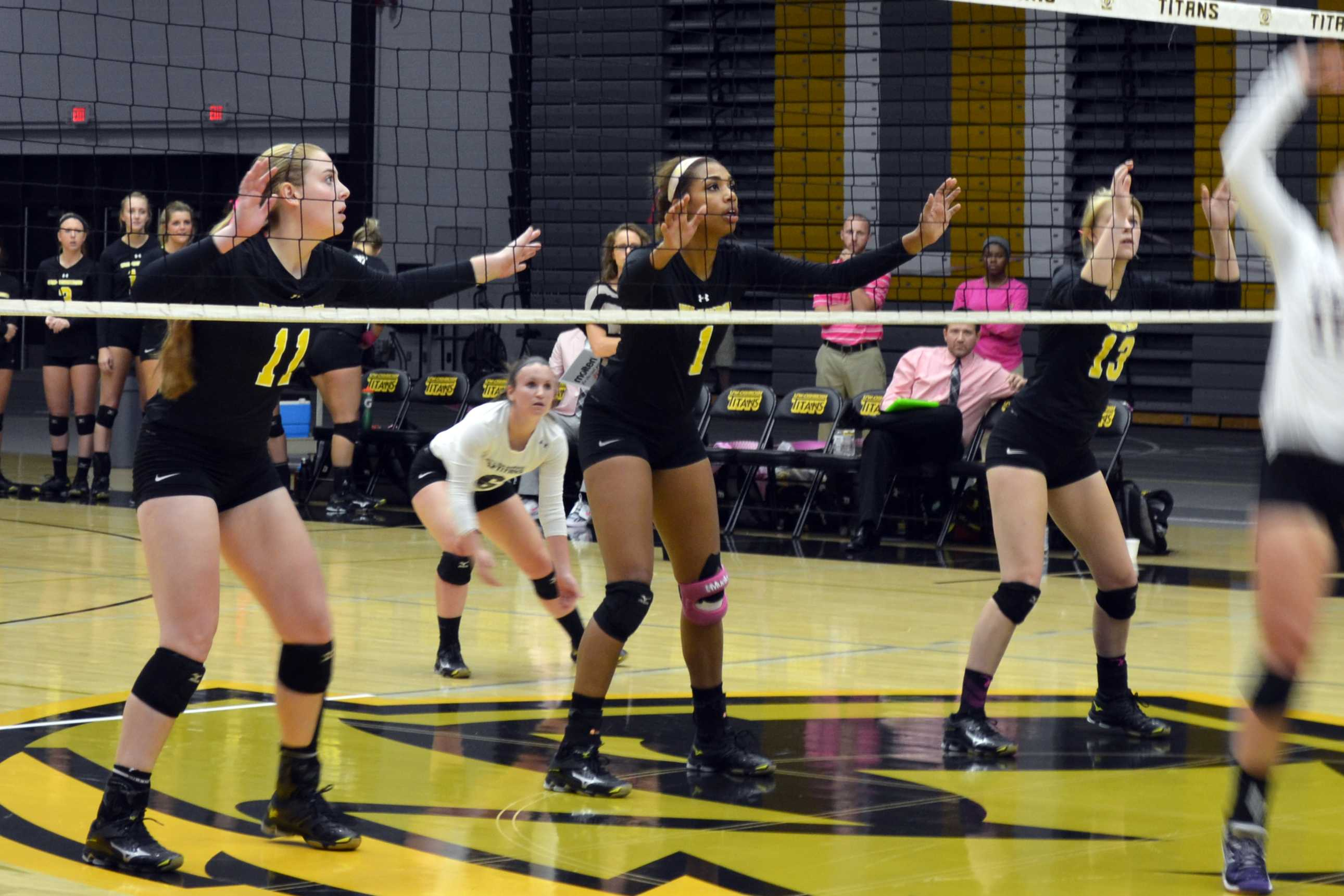 Volleyball defeats Pointers at home