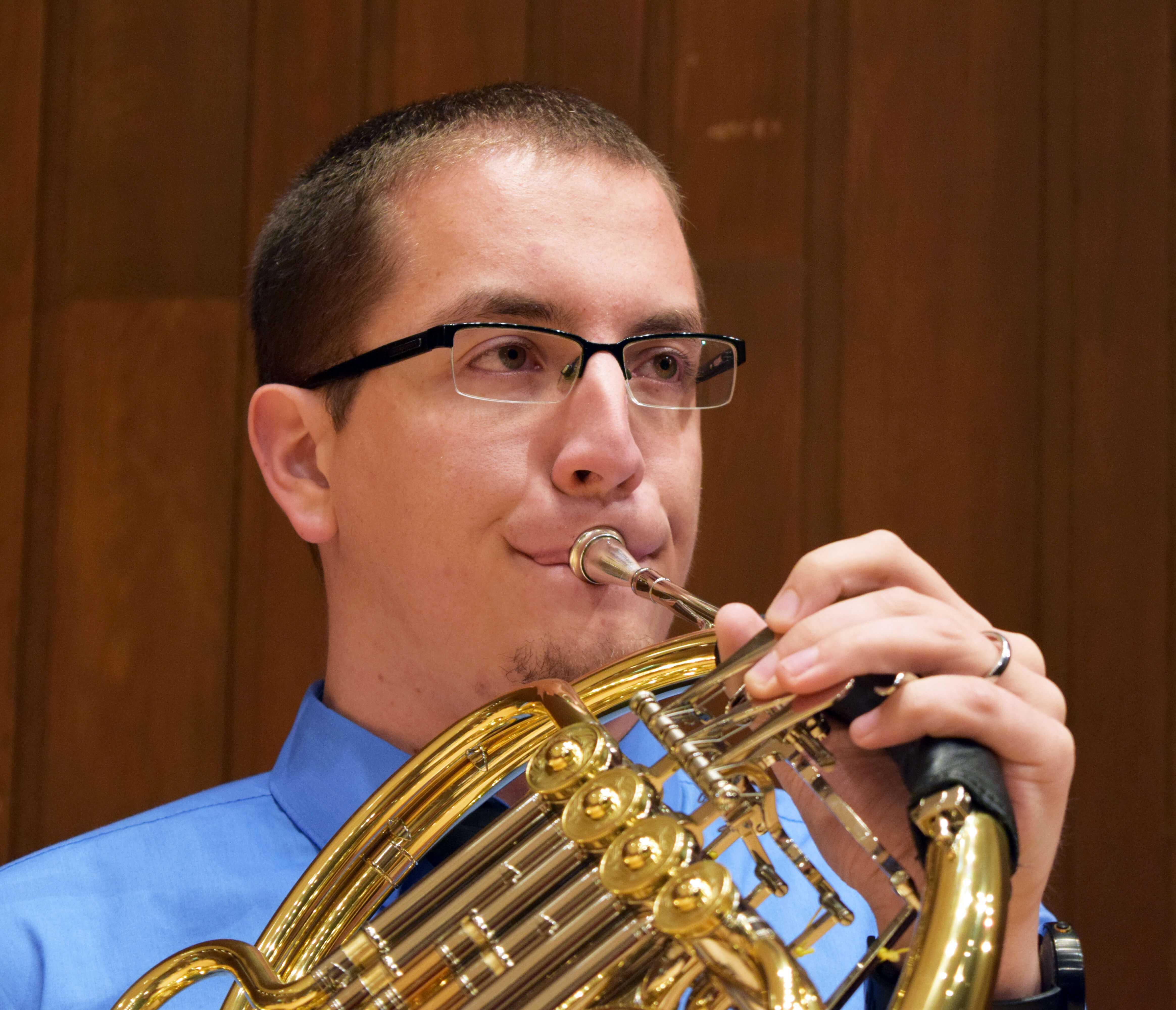 Witt wins a horn scholarship