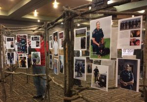 Professor Grace Lim's 'Humans of Oshkosh' exhibit is on display in Reeve Memorial Union.