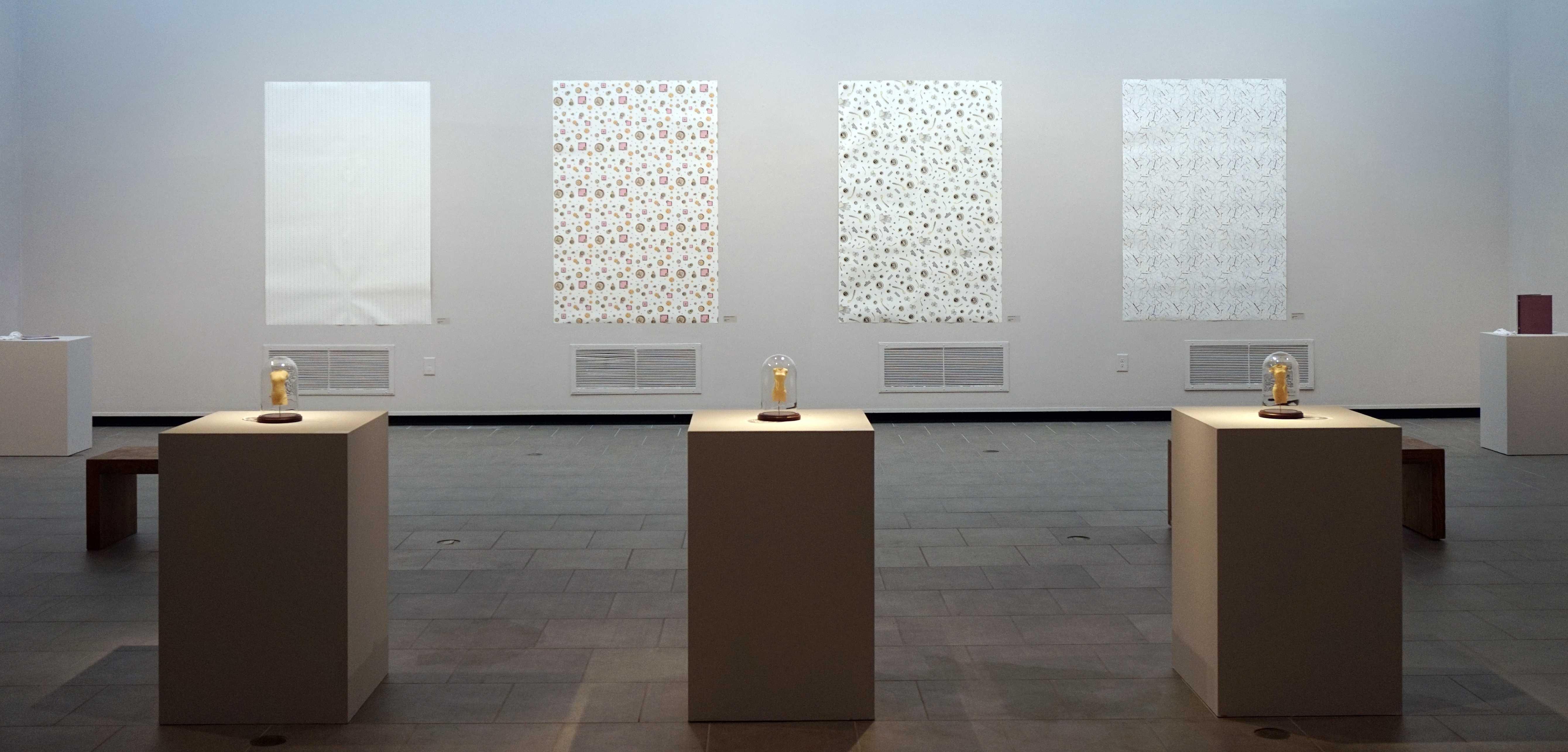 Artist displays feminine history