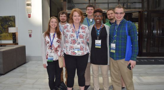The Advance-Titan was invited to the Associated Collegiate Press National Media Convention in Washington, D.C. The conference gave our paper the chance to interact with collegiate newspapers from around the country. The staff was able to take what they learned at the conference and apply to the A-T. The A-T's new website took ninth place in competition compared against other large universities with a student population of over 10,000.