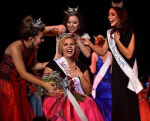 UW Oshkosh student Susan Fochs is crowned Miss Door County. Fochs moves on to compete in the Miss Wisconsin Pageant later this June.