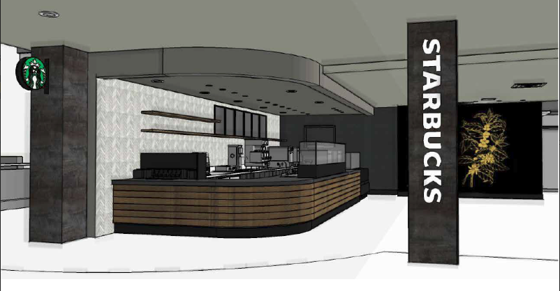One of the updates that would be made is an official Starbucks in Reeve Memorial Union.