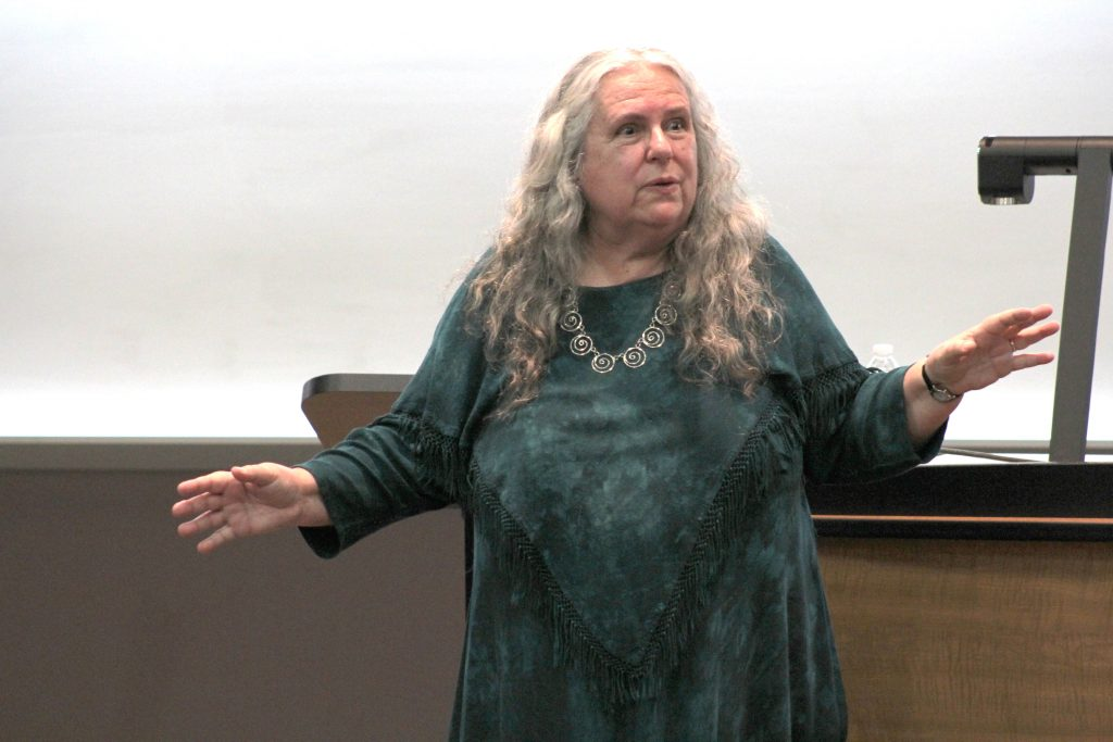 Selena Fox, founder of Circle Sanctuary, discusses the history and ways of Pagan people. Fox discussed Pagan fallacies.