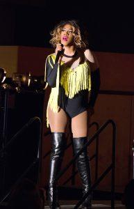 Vivian Storm hosts the 17th annual UWO Drag Show.