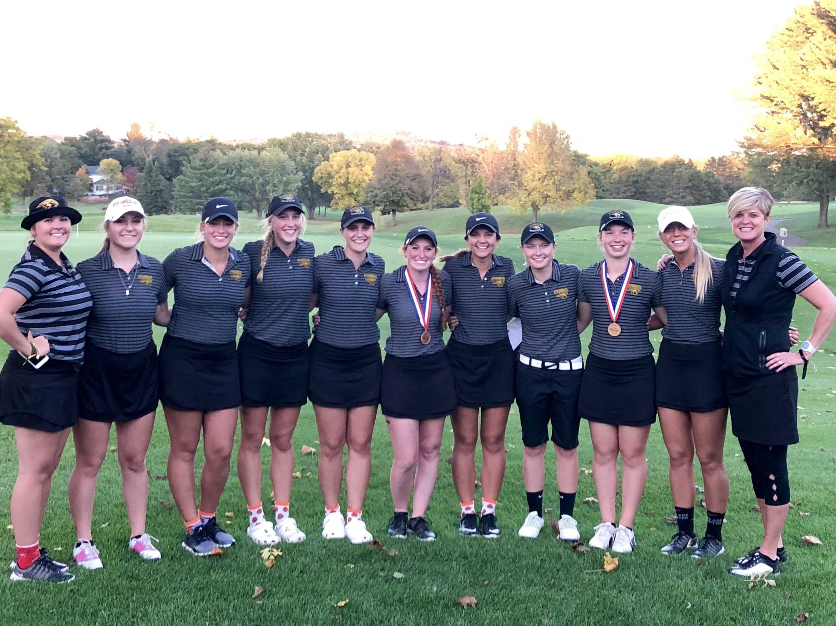 UWO golf finishes in third place at WIAC Championship