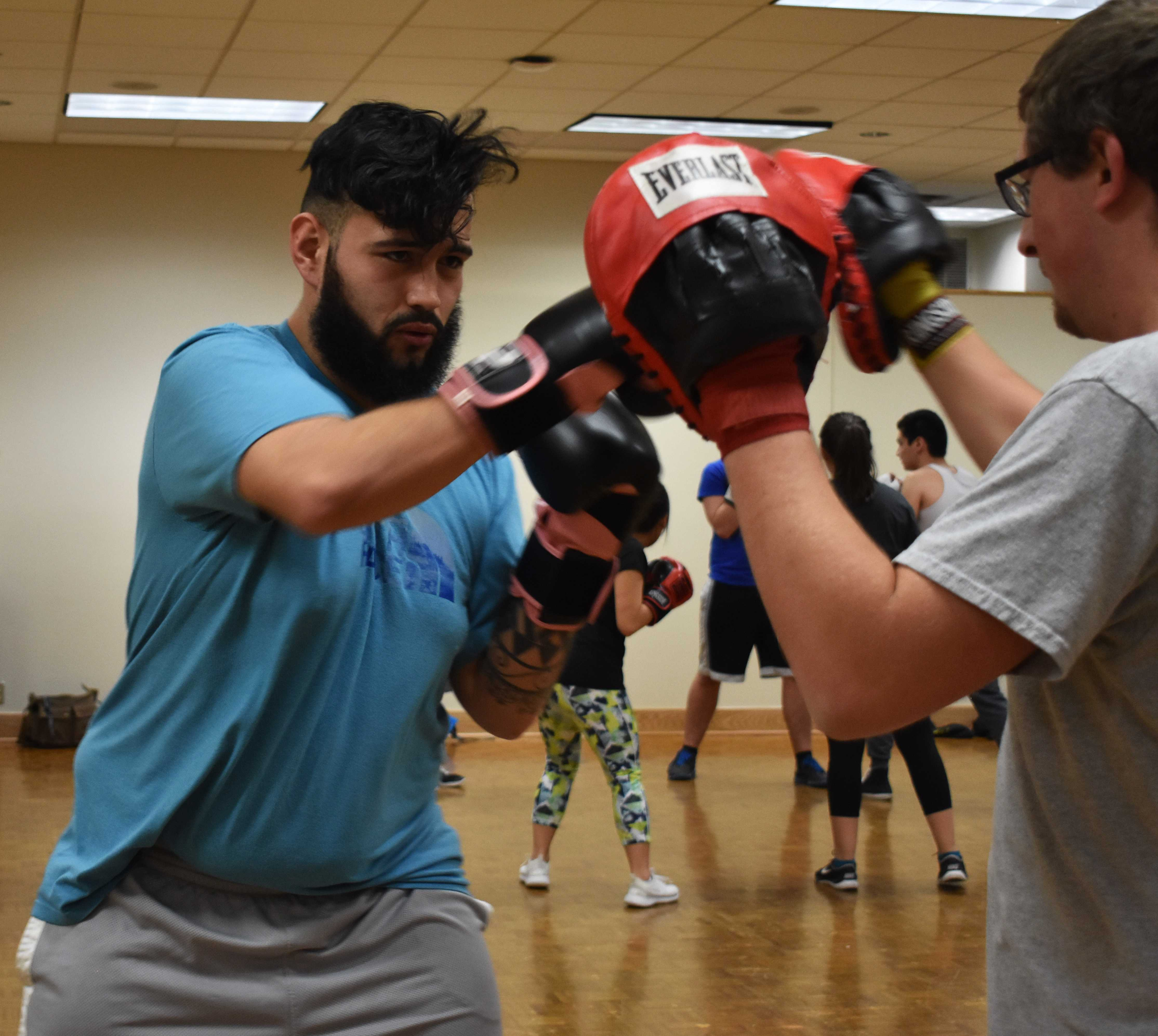 Boxing Club helps students get in shape