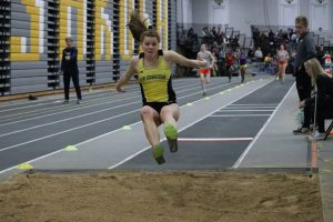 Junior jumper and sprinter Lauren Wrensch went a distance of 5.48 meters, placing second overall in the long jump.
