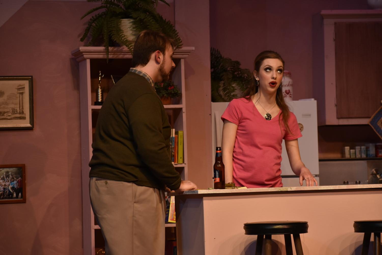 Vinnie Albin and Autumn Christensen play in-laws Howie and Izzy. Howie and his wife, Becca, are still mourning over the death of their son, which conflicts with Izzy's announcement of her pregnancy.