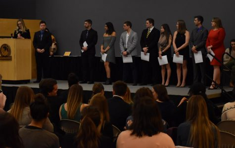 UWO Greek Life community honors outstanding members, good deeds