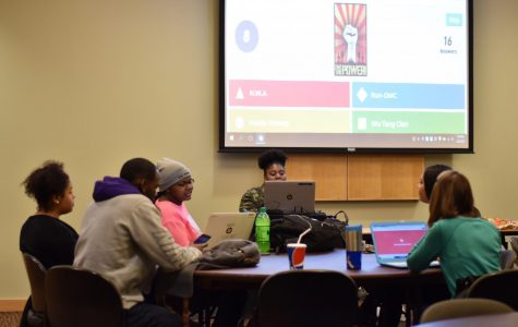 Students show knowledge in Black History Month Trivia