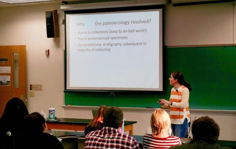 Geology guest speaker talks ancestry