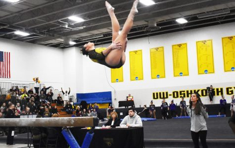 Gymnasts close season with loss