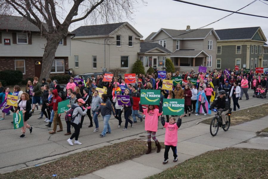9th annual LGBTQ Ally March hits the streets