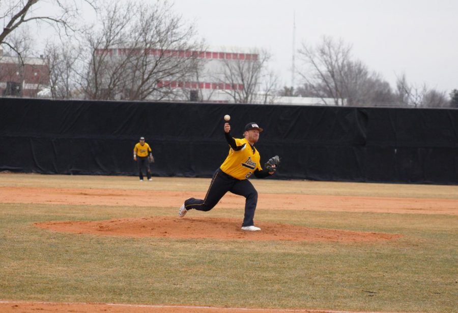 Senior+UWO+right-hander+Jesse+Sustachek+delivers+a+pitch+against+UW-Stevens+Point+on+April+12.+On+the+season%2C+Sustachek+has+appeared+in+six+games%2C+starting+all+six.+He+has+earned+two+victories+so+far%2C+pitching+to+a+5.04+ERA+across+25+innings.