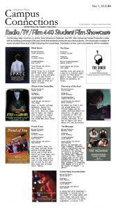 Radio/TV/Film 440 Student Film Showcase