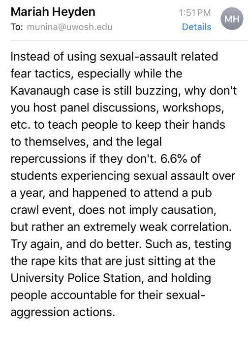Pub+crawl+email+raises+sexual+assault+questions