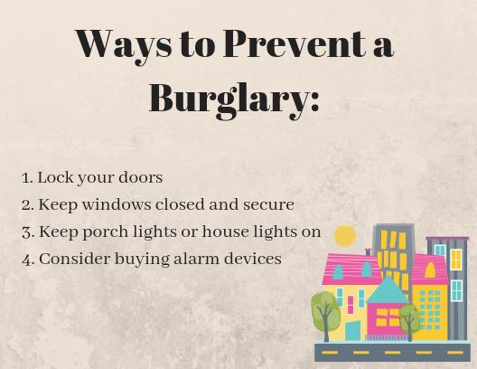 Ways to Prevent a Burglary_