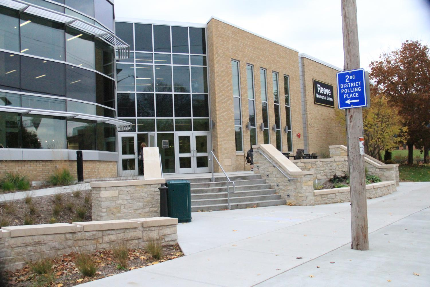 Reeve Memorial Union will be a voting location for students on Nov. 6.