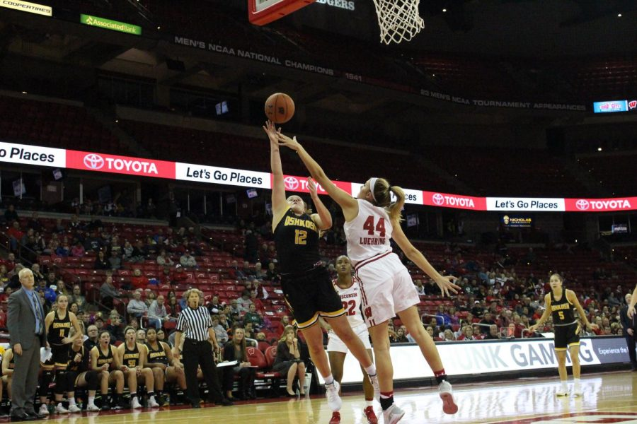 Leah Porath led UWO with seven points, nine rebounds and two steals.