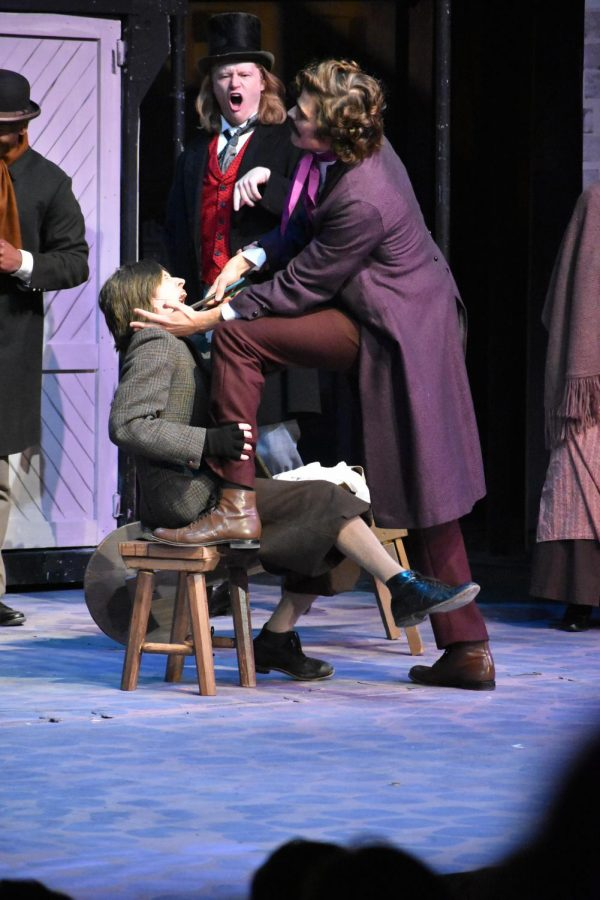 The musical thriller Sweeney Todd provides music, mirth and murder for all.