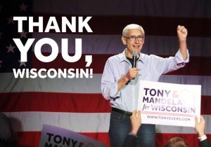 Governor-elect Tony Evers thanks Wisconsin.