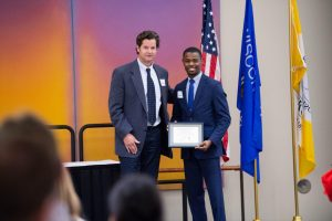 Business major wins African-American Student Leadership Award
