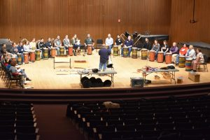 UWO welcomes cofounder of Beat for Peace to host drumming workshop