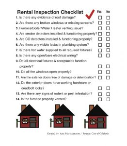 New inspection policies in place for rental properties