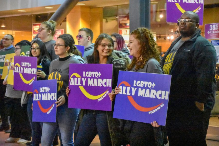 LGBTQ+ Ally March storms campus