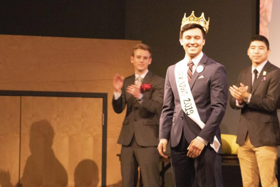 Mr. UWO 2019 Zander Lomibao beat the field of seven contestants last Thursday to win the crown.