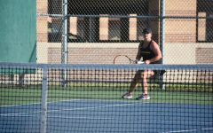 Tennis loses close match at Carthage