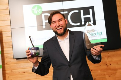 UWO+student+Daniel+Salazar+wins+funding+for+his+product+idea+%22Pack-Its%22+at+a+regional+pitch+competition.+%22Pack-Its%22+are+single+use+biodegradable+bags%2C+intended+for+things+such+as+animal+waste+removal.