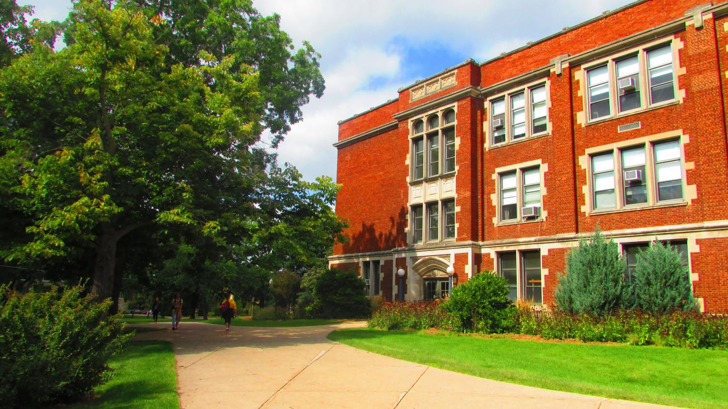 About 10,734 students are enrolled at the University of Wisconsin Oshkosh for the fall 2019 semester.
