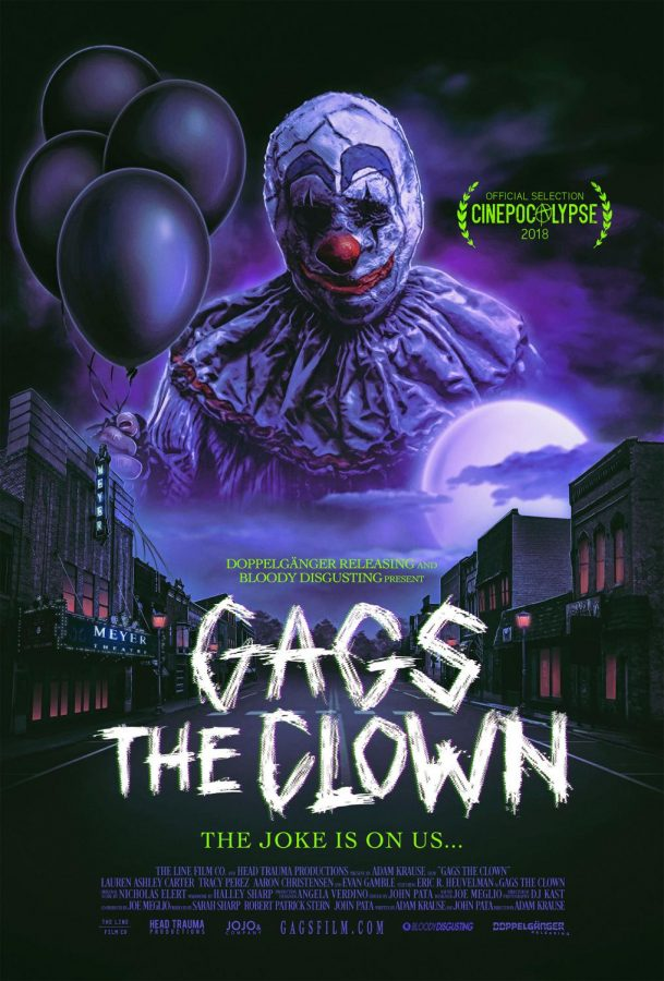 gags the clown movie poster