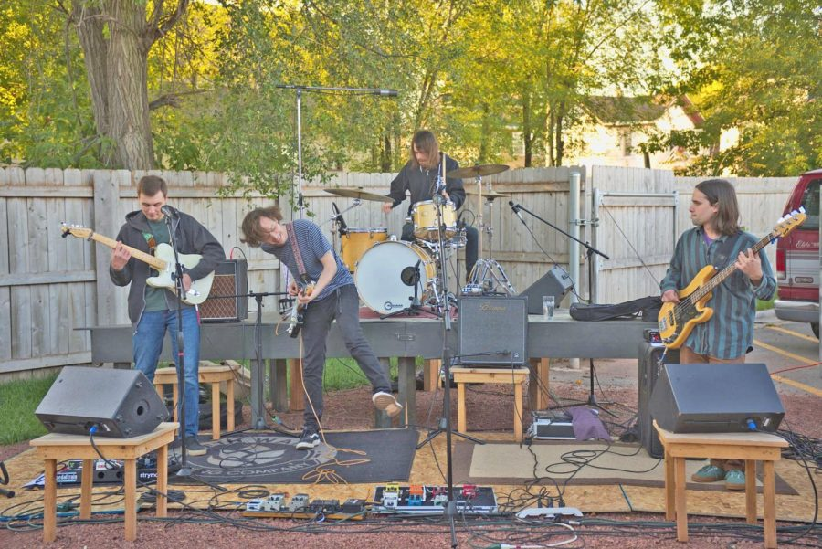 The Present Age, started by two brothers, plays a backyard show in Oshkosh.