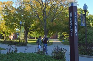Campus looks to phase out blue lights