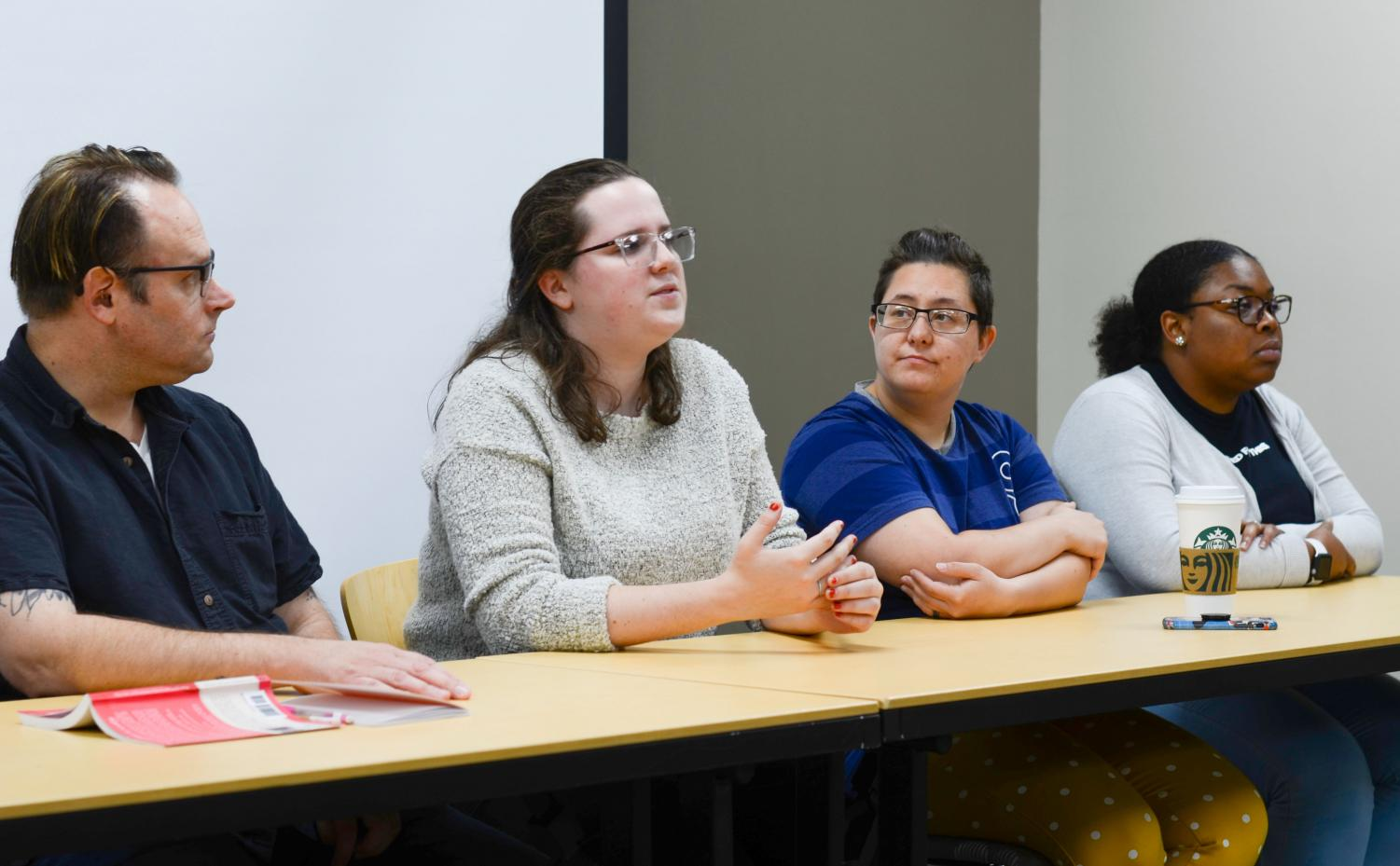 Panelists at Reeve Union speak about how spirituality has impacted their views on sex.