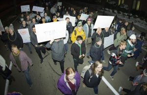 Students march for Take Back The Night