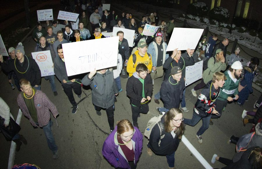 Students+march+for+Take+Back+The+Night