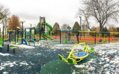 New playground  panders to adults