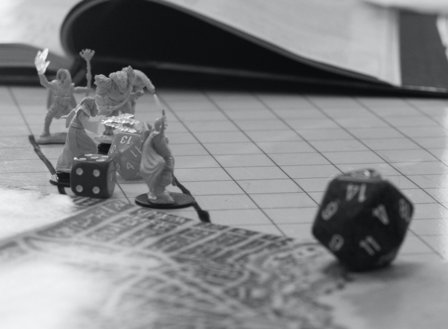 Dungeons & Dragons helps players relieve stress and anxiety.