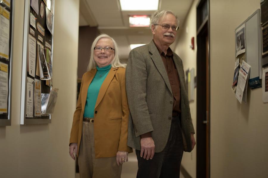 Joann and John Cross look back at 40 years at UW Oshkosh.
