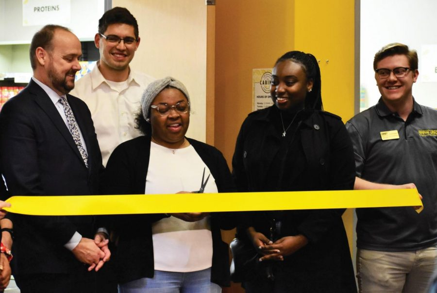 Food pantry opens in Reeve Union