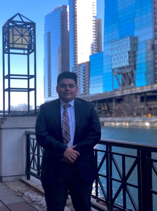 Student finds home at Latino organization