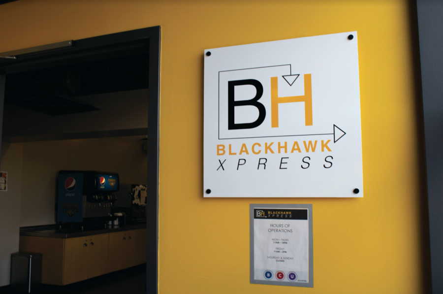Blackhawk Xpress offers better quality food than it's less favorable neighbor Blackhawk Commons.