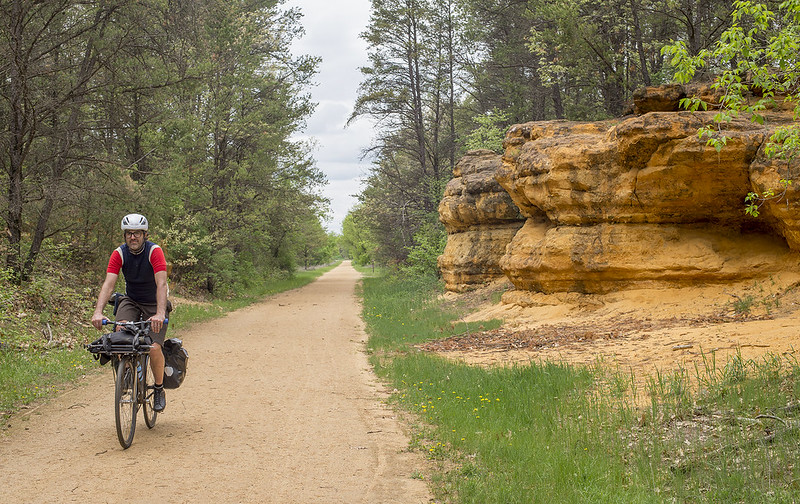 Photo by Dave Schlabowske — Biking on the Elroy- Sparta State Trail will be free on June 6-7.